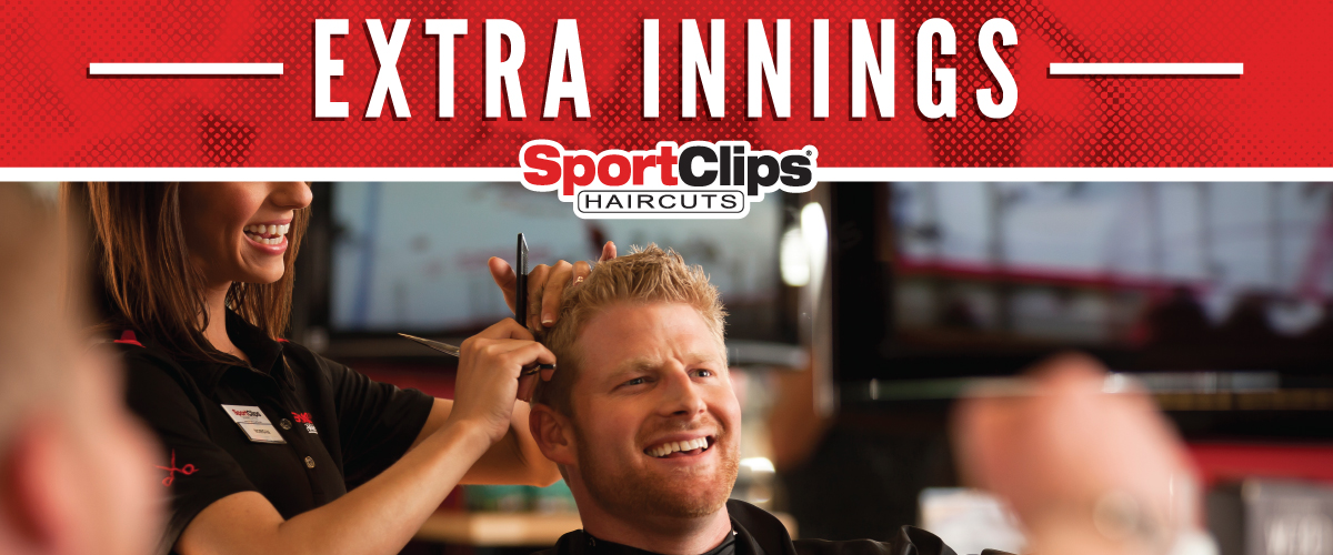 The Sport Clips Haircuts of Flower Mound Extra Innings Offerings